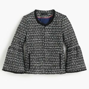 J. Crew Belle Sequin Tweed Jacket